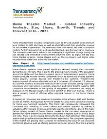 Home Theatre Market Research Report and Forecast up to 2023