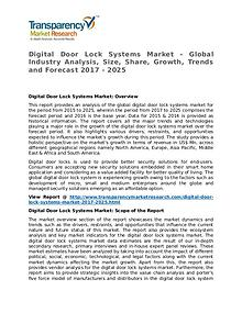 Digital Door Lock Systems Market Research Report and Forecast