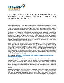 Electrical Insulation Market Research Report and Forecast up to 2024