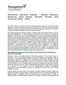 Electronic Warfare Market 2016 Trends, Research, Analysis and Review