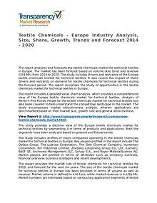 Textile Chemicals Market 2014 Share, Trend, Segmentation and Forecast