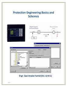 Protection Engineering Basics and Schemes