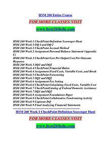 HSM 260 EDU Empowering and Inspiring/hsm260edu.com