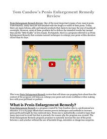 Penis Enlargement Remedy PDF / eBook