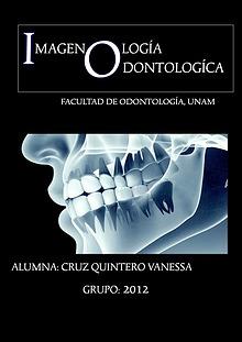 IMAGENOLOGÍA ODONTOLOGICA