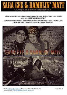 SARA GEE & RAMBLIN MATT ENGLISH / SPANISH DOSSIER