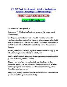 CIS 513 STUDY Learn Do Live /cis513study.com