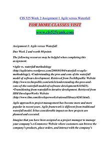 CIS 525 RANK Learn Do Live /cis525rank.com