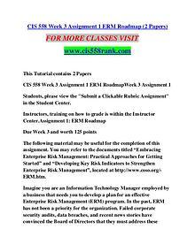 CIS 558 RANK Learn Do Live /cis558rank.com