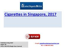 Cigarettes Industry: 2017 Singapore Market Size, Share, Growth, Trend