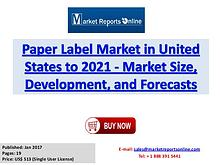 Paper Label Industry Overview, Trends and Market Growth Analysis Rese