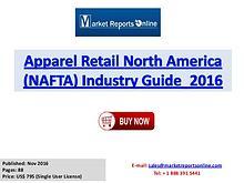 Apparel Retail Market North America Analysis 2016