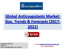 Anticoagulants Industry Growth Analysis and Forecasts To 2021