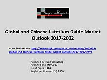 Lutetium Oxide Market Growth Analysis and Forecasts To 2022