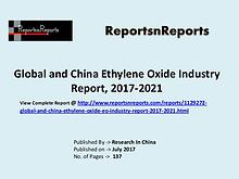 Ethylene Oxide Industry 2017 Market Trends and Competitive