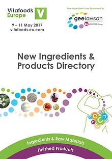New Ingredients and Products Directory
