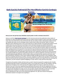 Optic Garcinia Cambogia