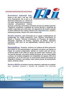 Servicio de Ingeniería ROSENCKRANZ iNDUSTRIAL LTDA.