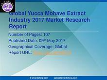 Global Yucca Mohave Extract Market Research Report 2017