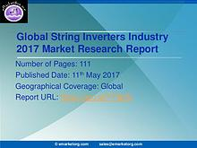 Global String Inverters Market Research Report 2017