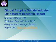 Global Atropine Sulfate Market Research Report 2017