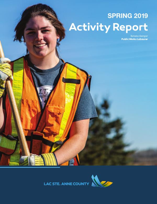 Lac Ste. Anne County Activity Report 2019 Spring Activity Report