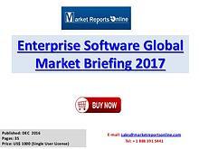 Enterprise Software Global Industry Insights Report 2017