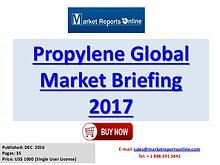 Global Propylene Industry Report Services 2017