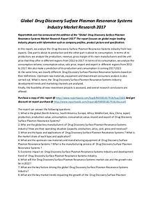 Market Studies