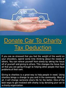 donate your car for cash