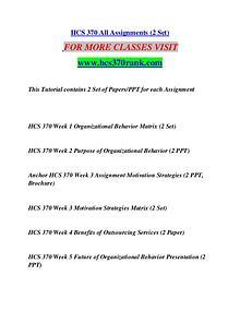 HCS 370 RANK Motivated Minds/hcs370rank.com
