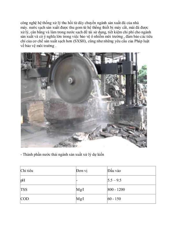 Quy trình xử lý nước thải may mặc