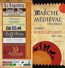 2ème Marché Medieval, Caylus 2017