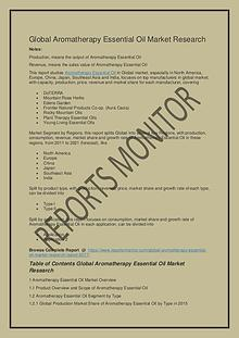 Reports Monitor - Market Reports