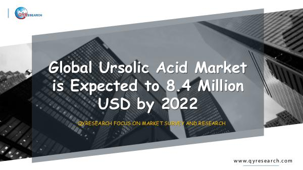 QYR Market Research Global Ursolic Acid Market Research