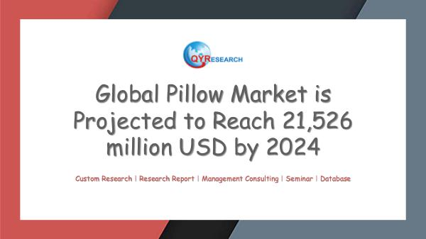 QYR Market Research Global Pillow Market Research