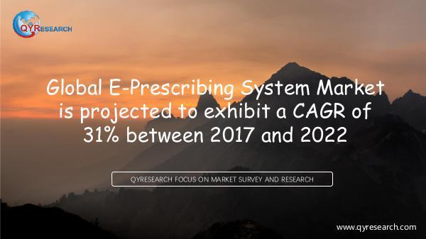 QYR Market Research Global E-Prescribing System Market Research Report
