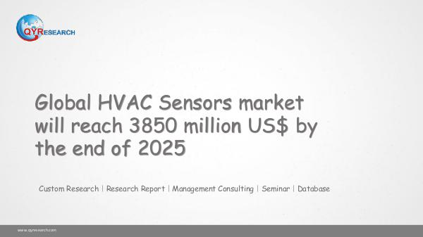 QYR Market Research Global HVAC Sensors market research