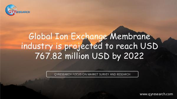 QYR Market Research Global Ion Exchange Membrane market research