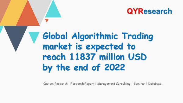 QYR Market Research Global Algorithmic Trading market research