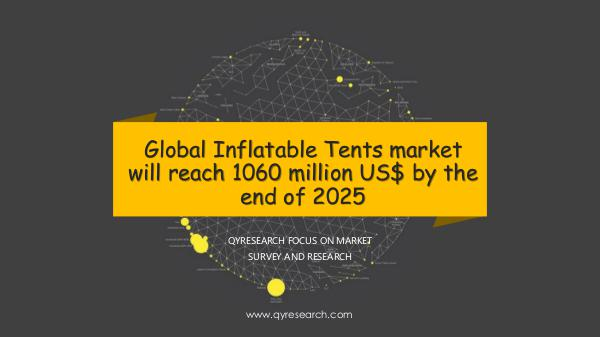 QYR Market Research Global Inflatable Tents market research