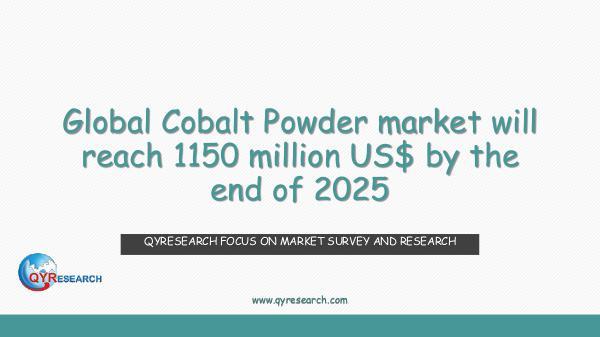 QYR Market Research Global Cobalt Powder market research