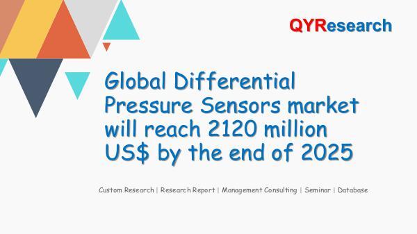 QYR Market Research Global Differential Pressure Sensors market