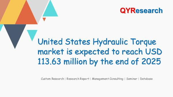 QYR Market Research United States Hydraulic Torque market research