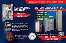 IER - Electrical Equipment and Controls
