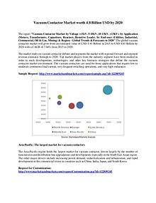 Vacuum Contactor Market worth 4.8 Billion USD by 2020