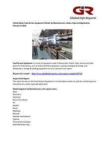 Food Service Equipment Market: Haier, Electrolux, Hoshizaki