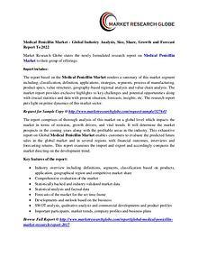 Medical Penicillin Market - Global Industry Analysis