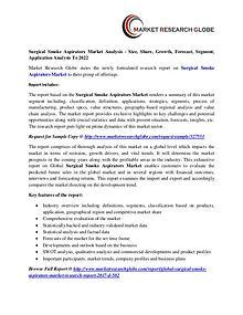 Surgical Smoke Aspirators Market Analysis - Size, Share, Growth,