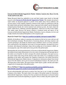Lincomycin Hydrochloride Suppositories Market Analysis- Size, Share,